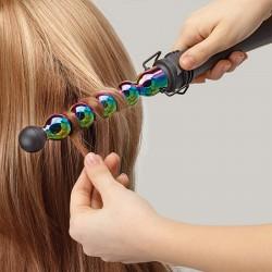 Lokówka do włosów Gamma Piu iron Bubble Rainbow marki