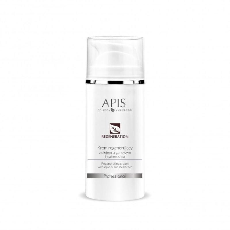 Krem regenerujący z olejem arganowym i masłem shea - APIS APIS