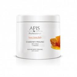 Cukrowy peeling do ciała z miodem - APIS