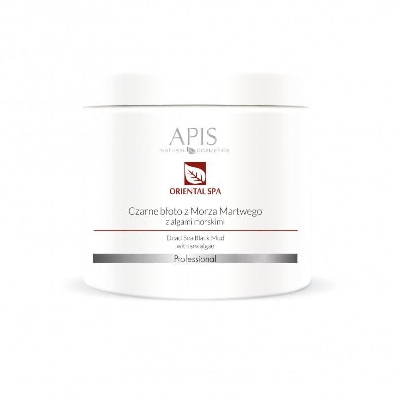 Czarne błoto z Morza Martwego z algami morskimi - APIS APIS