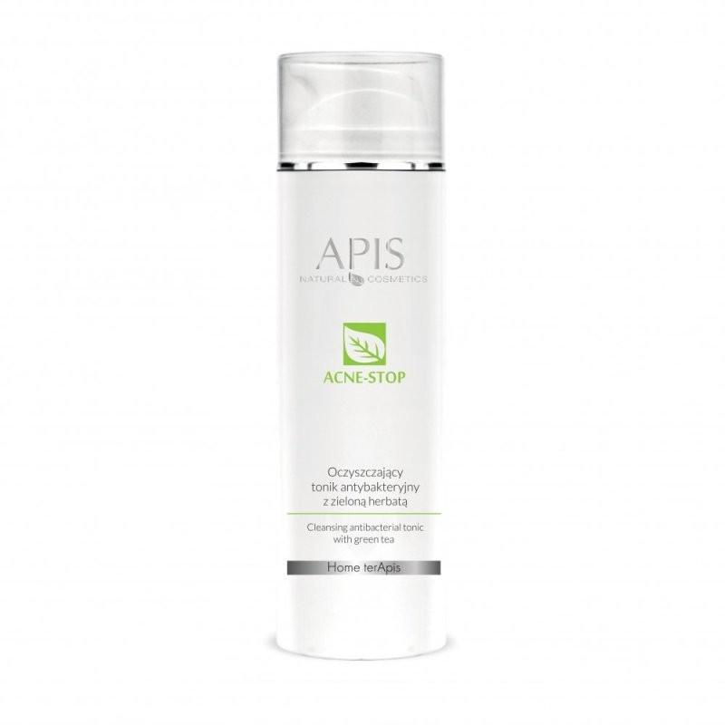 Oczyszczający tonik antybakteryjny z zieloną herbatą - APIS APIS