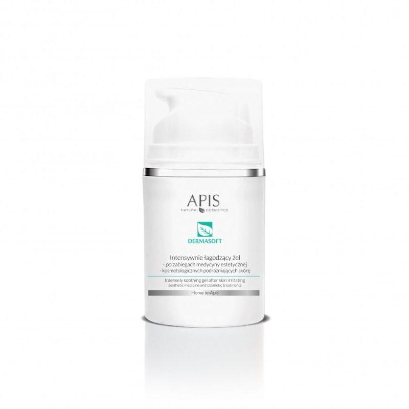 Intensywnie łagodzący żel po zabiegach medycyny estetycznej i kosmetologicznych podrażniających skórę - APIS APIS