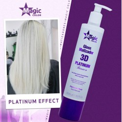 Magic Color 3D Maska Tonująca Platinium Efect 350ml marki Magic Color