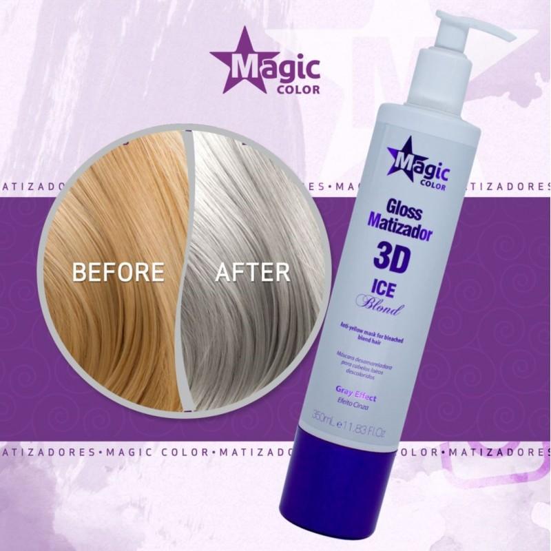 Magic Color 3D Maska Tonująca Gray Effect 350ml Magic Color