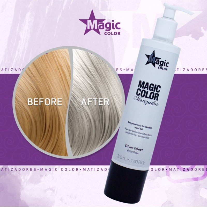 Magic Color Maska Tonująca Silver Effect 350ml Magic Color