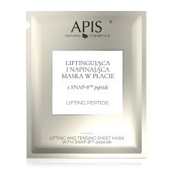 Liftingująca i napinająca maska w płacie z SNAP-8™ peptide