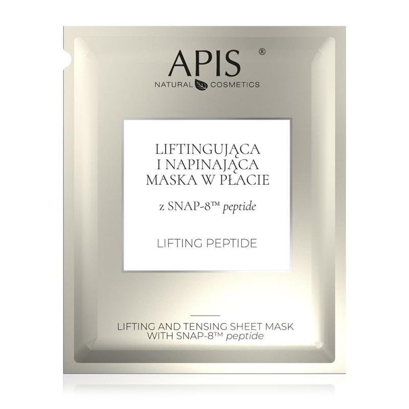 Liftingująca i napinająca maska w płacie z SNAP-8™ peptide APIS