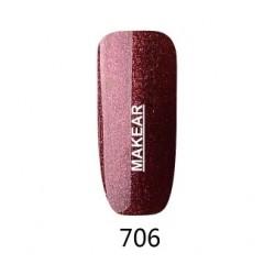 706 Glamour Lakier hybrydowy MAKEAR