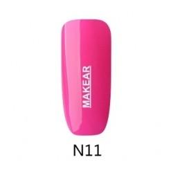 11 Neon Lakier hybrydowy MAKEAR