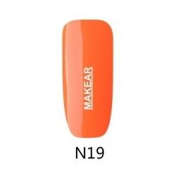 19 Neon Lakier hybrydowy MAKEAR