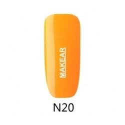 20 Neon Lakier hybrydowy MAKEAR
