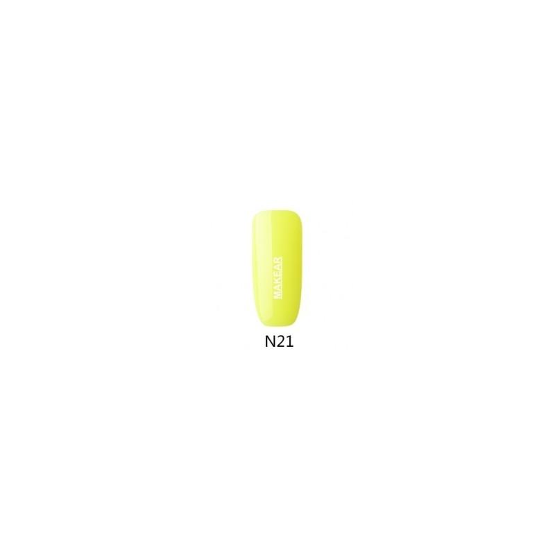 21 Neon Lakier hybrydowy MAKEAR MAKEAR