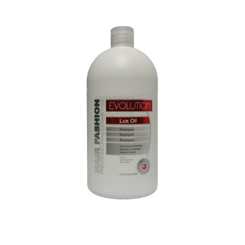 Szampon nawilżający i odżywiający - Evolution Lux Oil