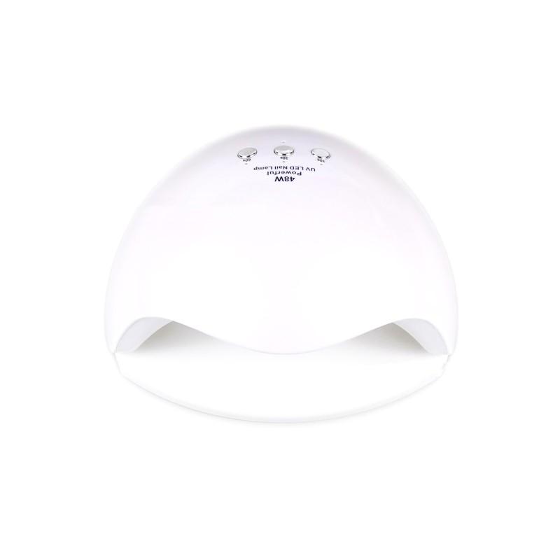 Lampa hybrydowa do paznokci DUAL LED / UV 48W