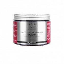 Detoksykujący peeling kawowy z liofilizowanymi malinami - APIS