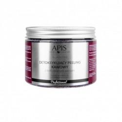 Detoksykujący peeling kawowy z liofilizowanymi wiśniami - APIS