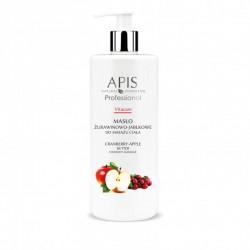 Masło żurawinowo - jabłkowe do masażu ciała - APIS