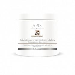 Odżywczo - regenerujący peeling czekoladowy do ciała z cukrem trzcinowym - APIS