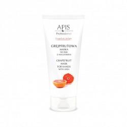 Grejpfrutowa maska do rąk z mocznikiem - APIS