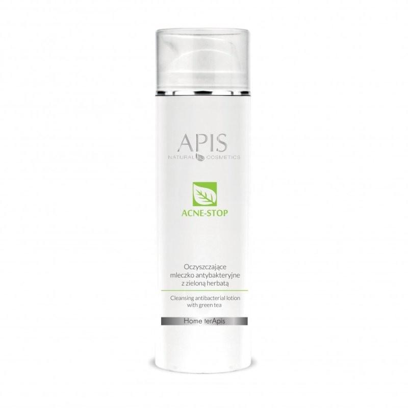 Oczyszczające mleczko antybakteryjne z zieloną herbatą - APIS APIS