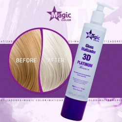 Magic Color 3D Maska Tonująca Platinium Efect 350ml