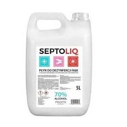 SEPTOLIQ Płyn do dezynfekcji rąk 5000ml