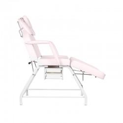 Fotel kosmetyczny BNS IVETTE różowy