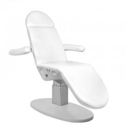 Fotel kosmetyczny elektryczny BNS ECLIPSE biały
