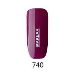 740 Glamour Lakier hybrydowy MAKEAR