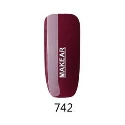 742 Glamour Lakier hybrydowy MAKEAR