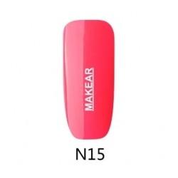 15 Neon Lakier hybrydowy MAKEAR